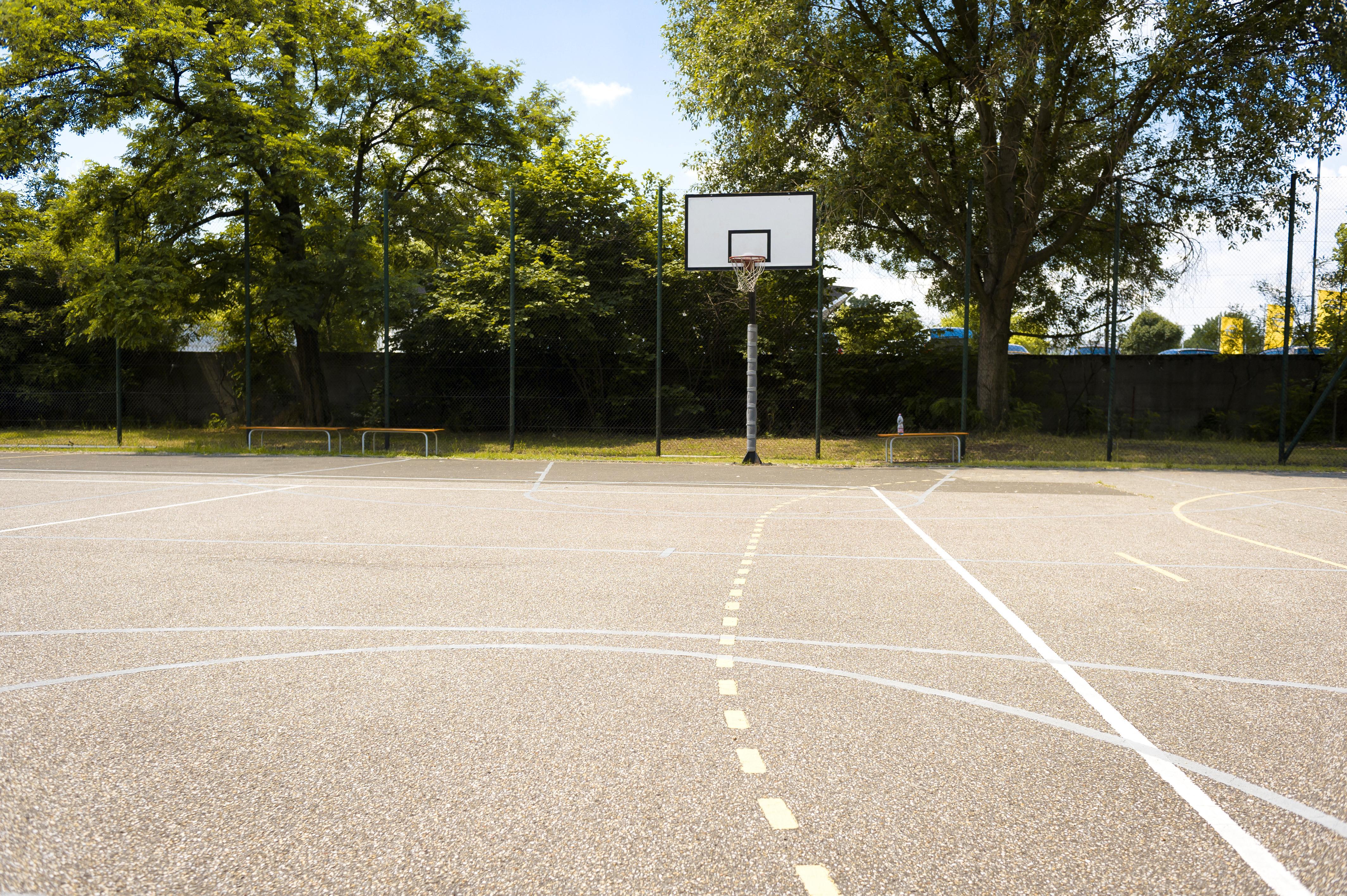 Dormitory sport court