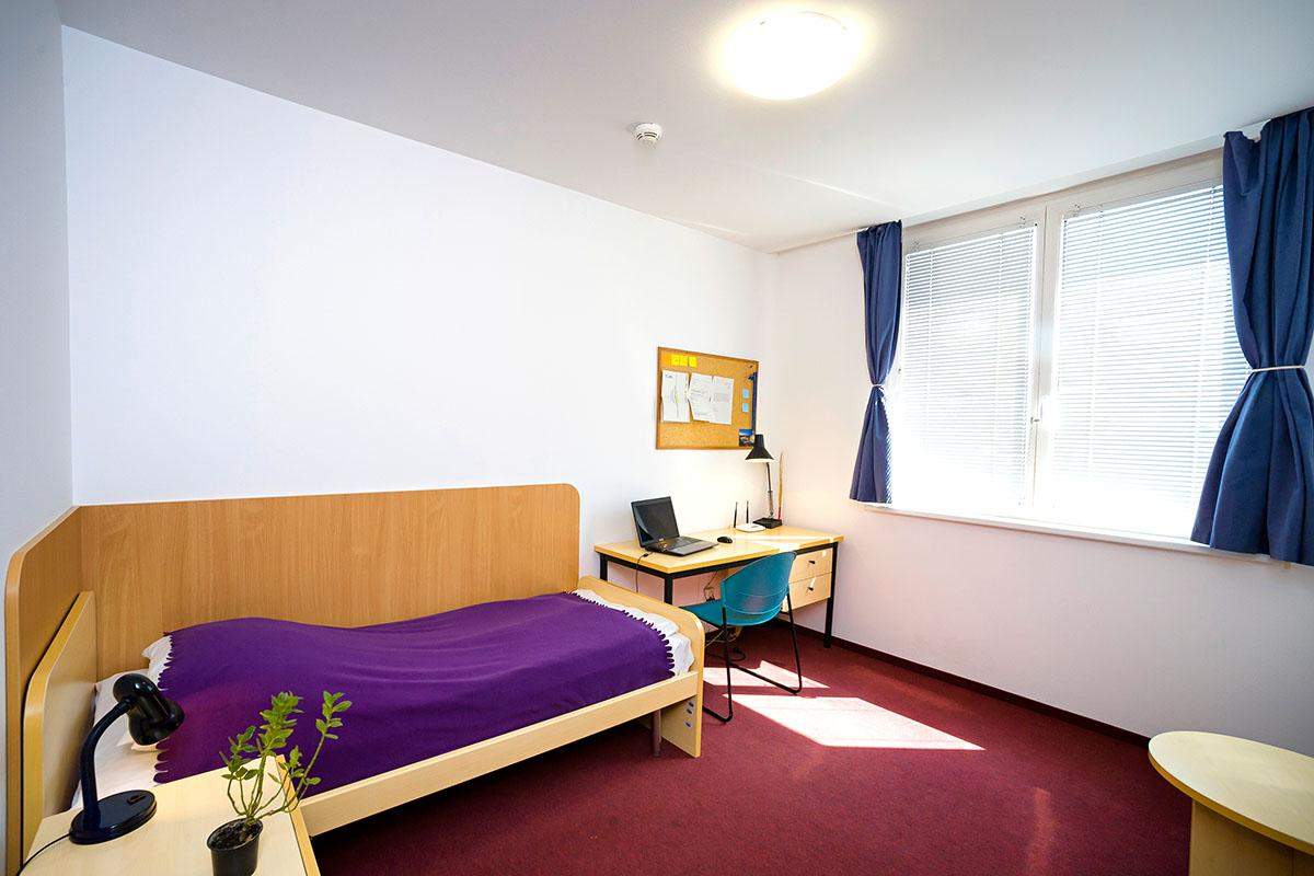 Single dormitory room