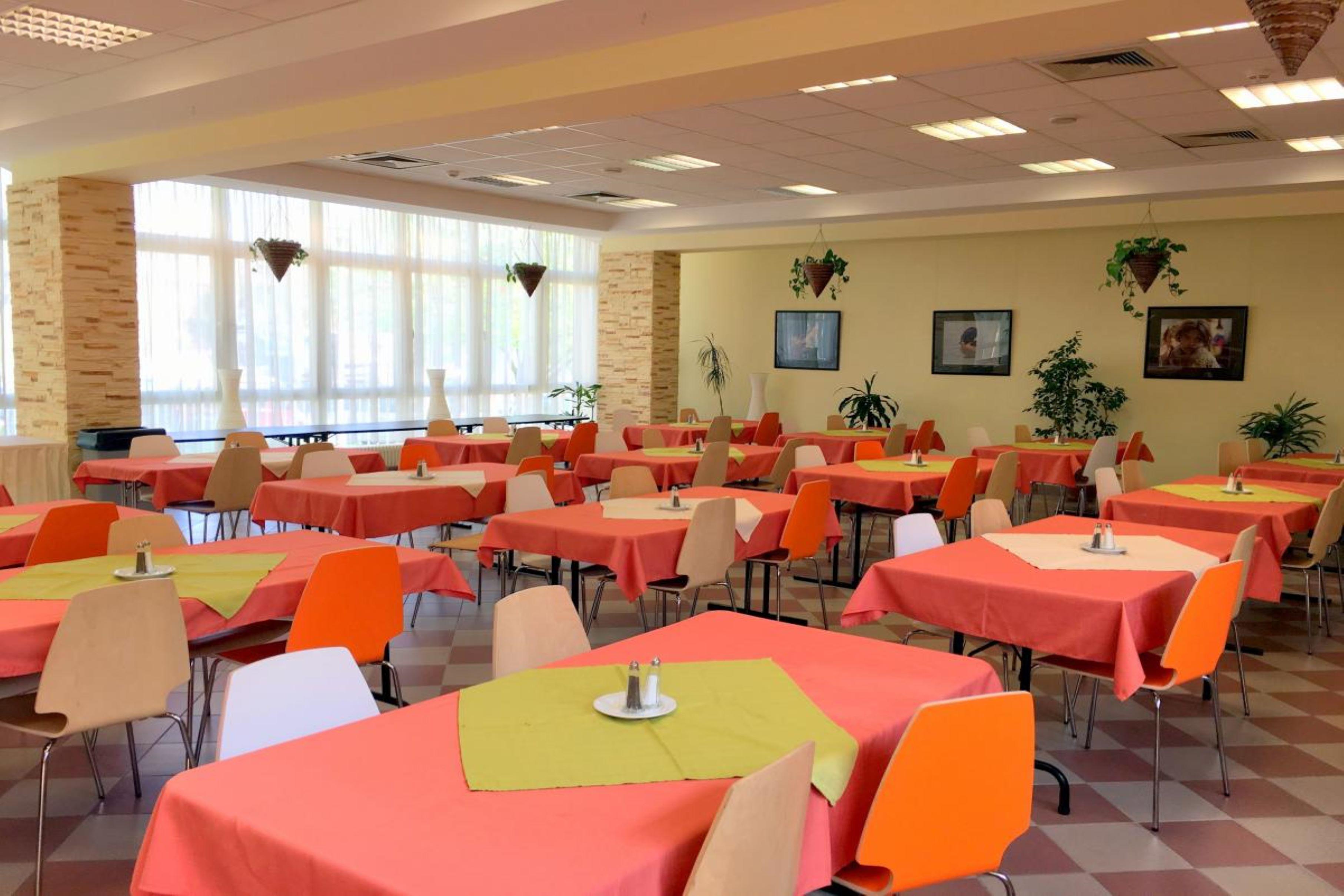 Dormitory cafeteria