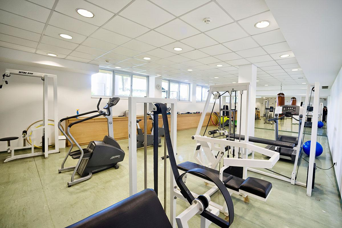 Dormitory gym