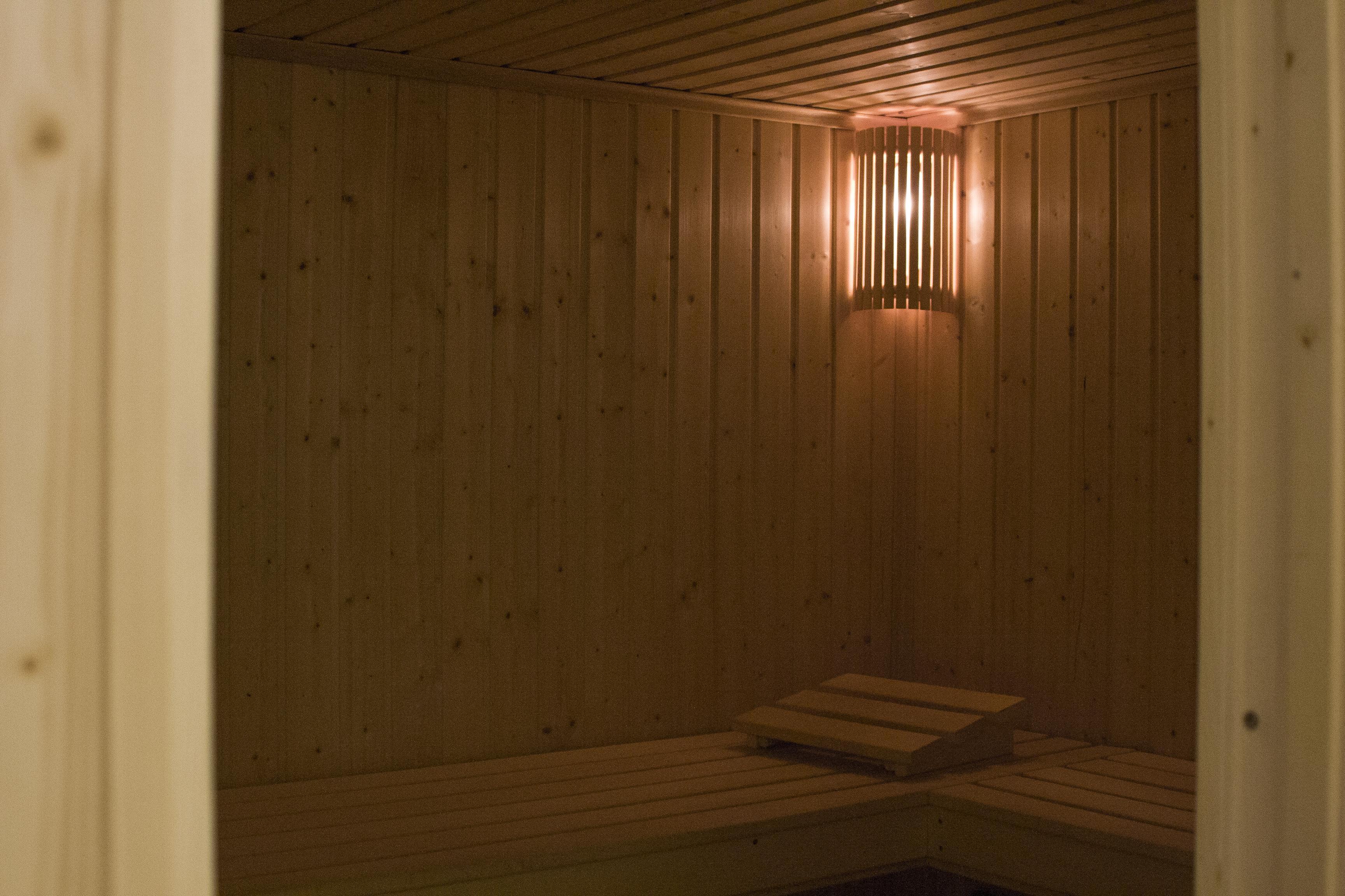 Dormitory sauna